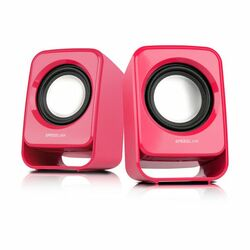 Speed-Link Snappy Stereo Speakers, berry