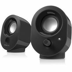 Speed-Link Snappy Stereo Speakers. black