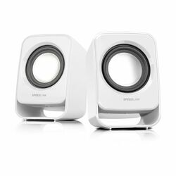 Speed-Link Snappy Stereo Speakers, white