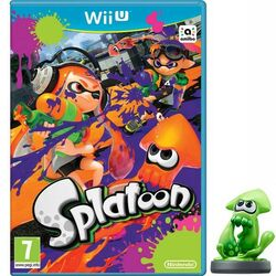 Splatoon + amiibo Squid