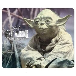 Star Wars Mousepad - Yoda great warrior na progamingshop.sk