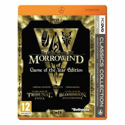 The Elder Scrolls 3: Morrowind (Game of the Year Edition) na progamingshop.sk