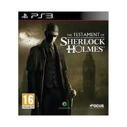 The Testament of Sherlock Holmes na progamingshop.sk