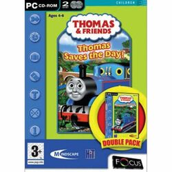 Thomas & Friends: Thomas Saves the Day! + Building the New Line (Double Pack)