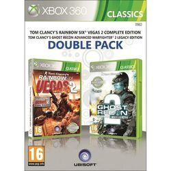Tom Clancy's Rainbow Six: Vegas 2 + Tom Clancy's Ghost Recon: Advanced Warfighter 2 na progamingshop.sk
