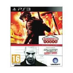 Tom Clancy's Rainbow Six: Vegas + Tom Clancy's Splinter Cell: Double Agent na progamingshop.sk