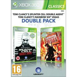 Tom Clancy's Splinter Cell: Double Agent + Tom Clancy's Rainbow Six: Vegas na progamingshop.sk