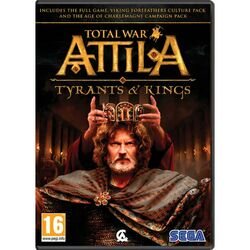 Total War Attila: Tyrants and Kings CZ na progamingshop.sk