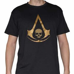 Tričko Assassin's Creed 4: Black Flag Gold M