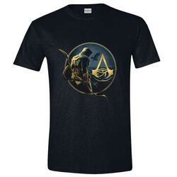 Tričko Assassin's Creed Origins Bayek and Logo XL