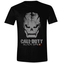 Tričko Call of Duty Black Ops 3: Grunge Skull L