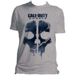 Tričko Call of Duty: Ghosts Skull XL