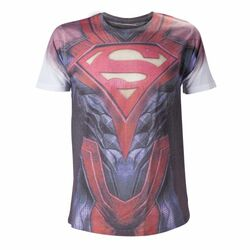 Trièko Injustice Sublimation: Superman Torso M