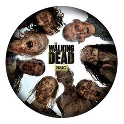 Walking Dead Mousepad - Round of zombies