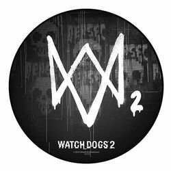 Watch Dogs 2 Mousepad - Logo
