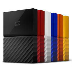 WD My Passport 4TB 2,5