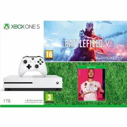 Xbox One S 1TB + Battlefield 5 (Deluxe Edition) + FIFA 20 CZ na progamingshop.sk