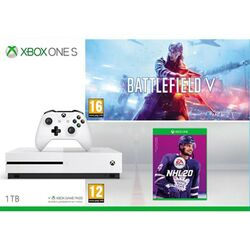 Xbox One S 1TB + Battlefield 5 (Deluxe Edition) + NHL 20 CZ na progamingshop.sk