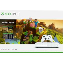 Xbox One S 1TB + Minecraft Creators Bundle