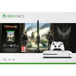 Xbox One S 1TB + Tom Clancy's The Division 2 CZ na progamingshop.sk