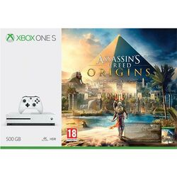 Xbox One S 500GB + Assassin's Creed Origins CZ