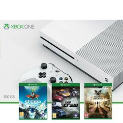 Xbox One S 500GB + Steep + The Crew + State of Decay 2