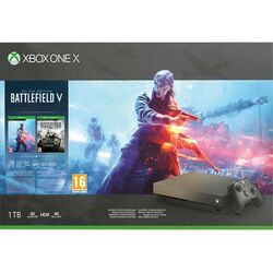 Xbox One X 1TB + Battlefield 5 (Deluxe Edition)