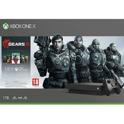 Xbox One X 1TB + Gears 5 + Gears of War 1,2,3,4 na progamingshop.sk