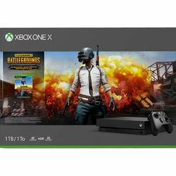 Xbox One X 1TB + PlayerUnknown's Battlegrounds (Game Preview Edition)