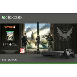 Xbox One X 1TB + Tom Clancy's The Division 2 CZ na progamingshop.sk