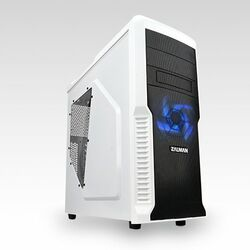 Zalman Z3 Plus White ATX, black-white