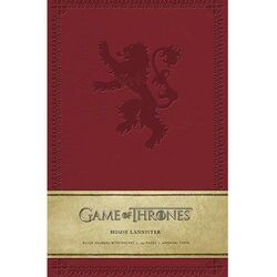 Zápisník Game of Thrones: House Lannister