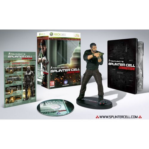 ATom Clancy's Splinter Cell: Conviction (Limited Collector's Edition)
