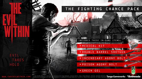 The Evil Within DLC The Fighting Chance Pack