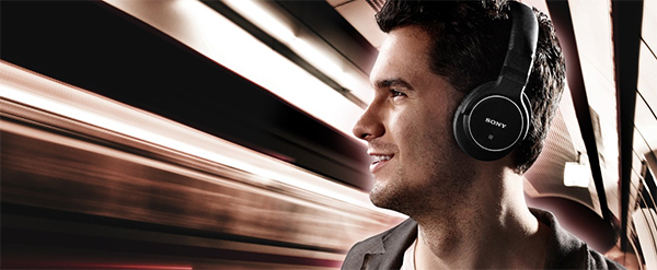 SONY MDR-ZX750BN Bluetooth Headphones