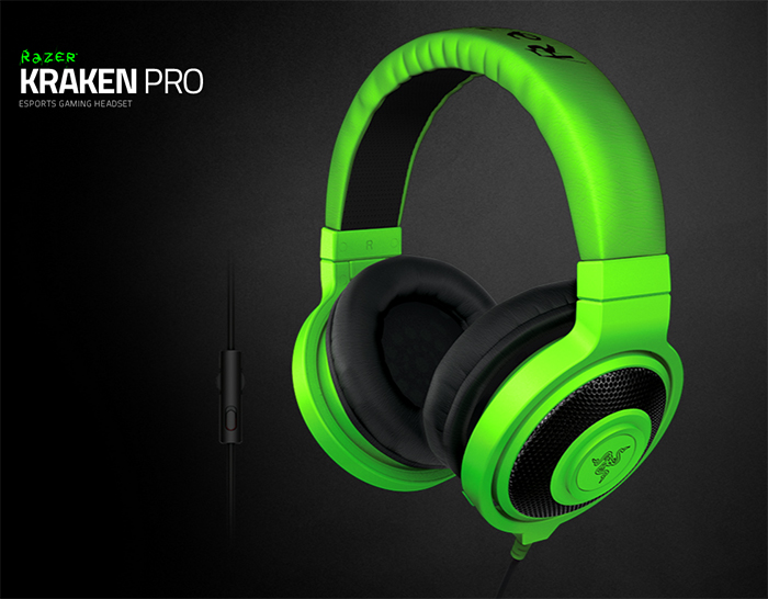 Razer Kraken Pro E-Sports Gaming Headset