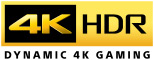 4K HDR dynamic 4K gaming